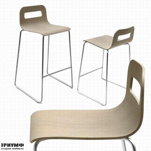 Итальянская мебель Lapalma - Барный стул hole-sgabello