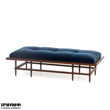 Американская мебель Boyd - Draper bench