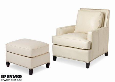 Американская мебель Hancock & Moore - Arrington Chair & Ottoman