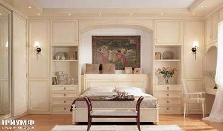 Итальянская мебель Ferretti e Ferretti - Спальня классическая, с панелями Morfeo