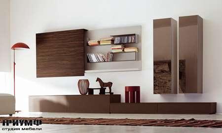 Итальянская мебель Pianca - Композиция Unless с раздвижной дверью в лаке
