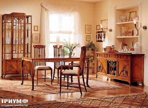 Итальянская мебель Medea - Столовая в стиле Liberty