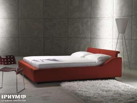 Итальянская мебель Orizzonti - кровать Wave