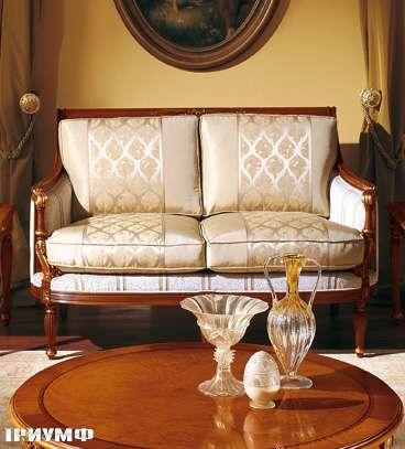 Итальянская мебель Colombo Mobili - Диван 2х местный арт.273.Р2