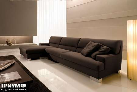 Итальянская мебель CTS Salotti - Диван угловой модульный, модель Grande soiree