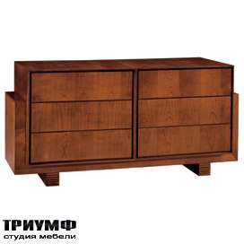 Итальянская мебель Morelato - Комод деревянный 900 Scacchi