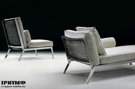 Итальянская мебель Flexform - armchairs pouf happy