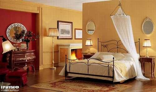Итальянская мебель Giusti Portos - Железная кровать Papillon