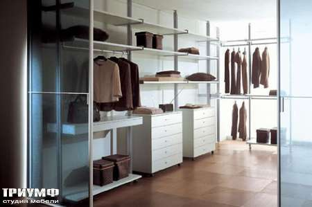 Итальянская мебель Longhi - Гардеробная Vertical