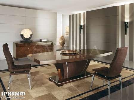 Итальянская мебель Smania - Стол Barrique, Стулья Astra