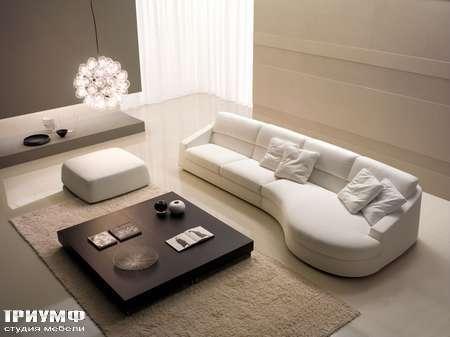 Итальянская мебель CTS Salotti - Диван закругленный модульный, модель Home