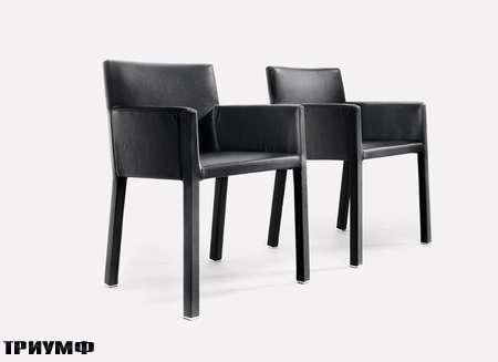 Итальянская мебель Rivolta - стулья в коже Olimpia