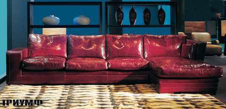 Итальянская мебель Ulivi  - угловой-диван-Rex