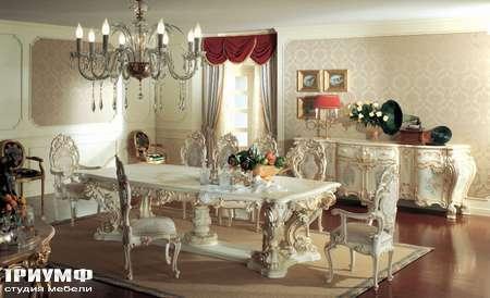Итальянская мебель Silik - Буфет с гнутыми фасадами  Minerva