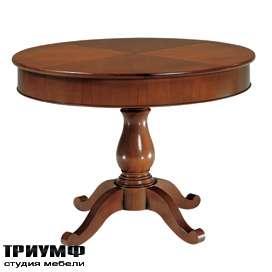 Итальянская мебель Morelato - Круглый стол на ноге