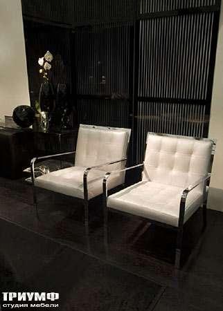 Итальянская мебель Fendi Casa - Полукресло Federica