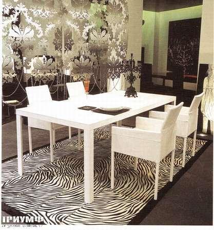 Итальянская мебель Rugiano - Стол Todo кожаный