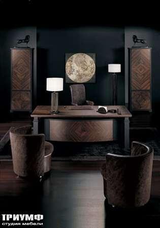 Итальянская мебель Smania - Стол директора Madison Deluxe