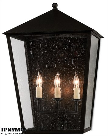 Американская мебель Currey and Company - Bening Outdoor Wall Sconce