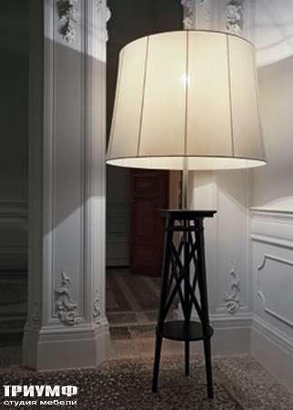 Итальянская мебель Chelini - Торшер совмещенный со столиком