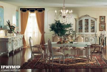 Итальянская мебель Silik - Стол на резных ножках Talia