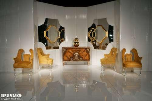 Итальянская мебель Cornelio Cappellini - Полукресла с разделённой спинкой