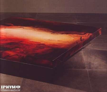 Итальянская мебель Rugiano - Стол журнальный Decoro, низкий