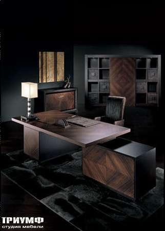 Итальянская мебель Smania - Стол кабинетный Manhattan Deluxe
