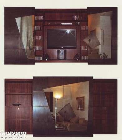 Итальянская мебель Rugiano - Стенка Teorema