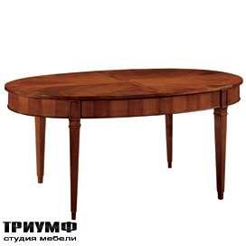 Итальянская мебель Morelato - Стол овальный на прямых ногах