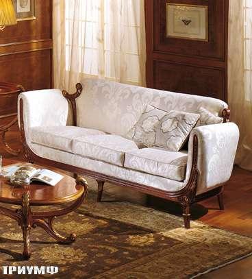 Итальянская мебель Colombo Mobili - Диван 3х местный 278.Р3 кол. Vivaldi