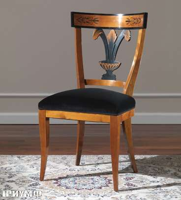 Итальянская мебель Colombo Mobili - Стул в стиле Бидермайер арт. 139.S кол. Rossini