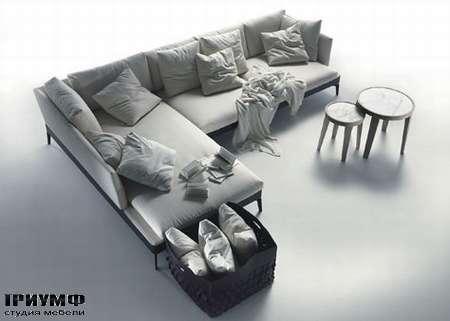 Итальянская мебель Flexform - sectional sofas feel good ten