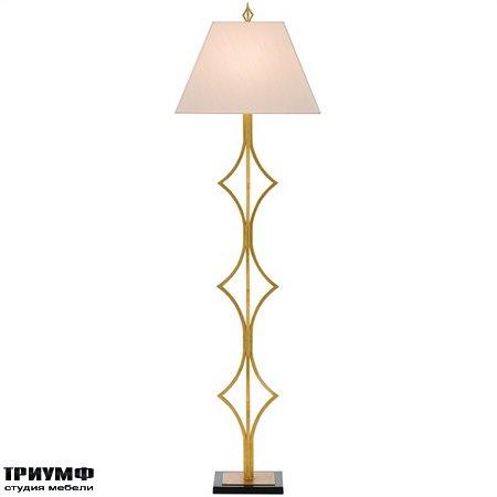 Американская мебель Currey and Company - Daiya Floor Lamp