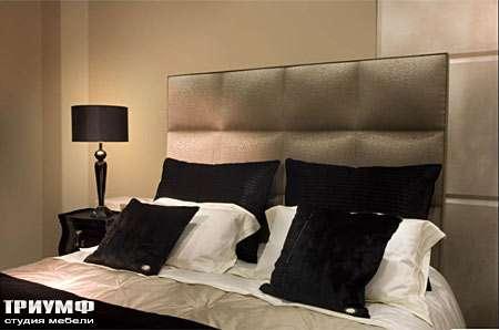 Итальянская мебель Fendi Casa - Кровать Diamante