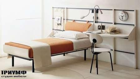 Итальянская мебель Di Liddo & Perego - Кровать с письменным столом Thin