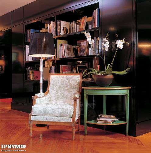 Итальянская мебель Salda - Кресло  Cod - 7433  КОНСОЛЬ  COD- 8508