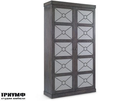 Американская мебель Chaddock - Alpine Cabinet with Upholstery Panels