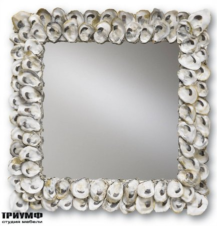 Американская мебель Currey and Company - Oyster Shell Mirror