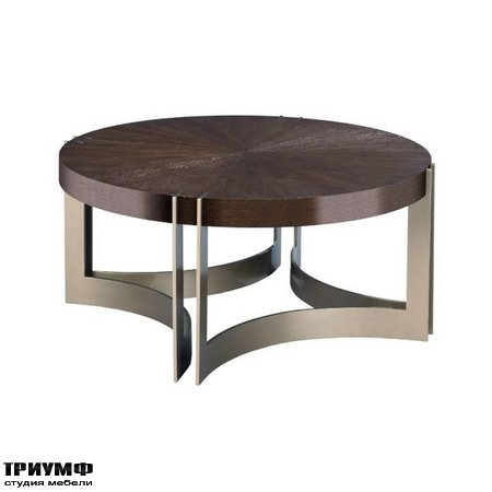Американская мебель Hammary - KENTON ROUND COCKTAIL TABLE
