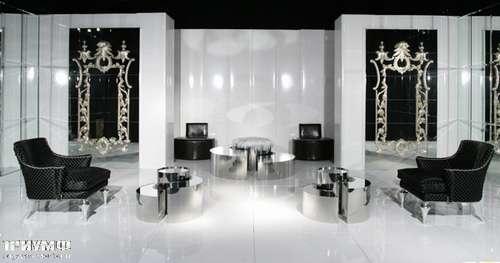 Итальянская мебель Cornelio Cappellini - Полукресло кожаное с гвоздиками