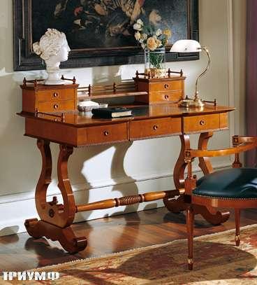 Итальянская мебель Colombo Mobili - Рабочий стол в имперском стиле арт.310 кол. Perosi