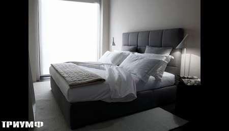 Итальянская мебель Meridiani - кровать Bardot