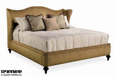 Американская мебель Hickory White - California King Upholstered Bed