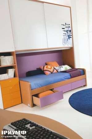 Итальянская мебель Di Liddo & Perego - Стенка с кроватью Under
