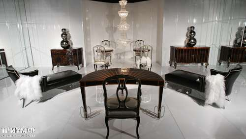 Итальянская мебель Cornelio Cappellini - Стул для гламурного кабинета, лежанки