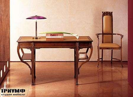 Итальянская мебель Medea - Стол арт. 907, стул арт. 910