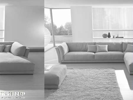 Итальянская мебель CTS Salotti - Диван стиля ар деко, модель Oasi