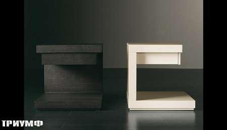 Итальянская мебель Meridiani - прикроватные тумбы Clooney