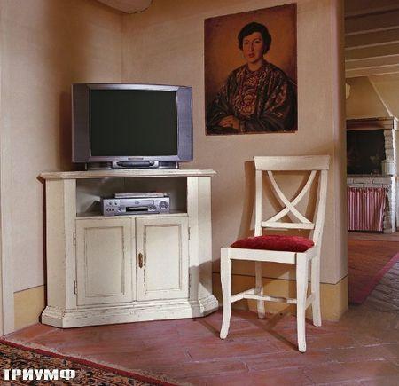 Итальянская мебель Tonin casa - угловая тумба под тв